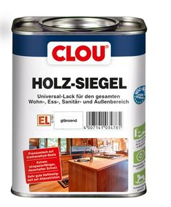 Holzsiegel CLOU Universal Klarlack glänzend 750 ml