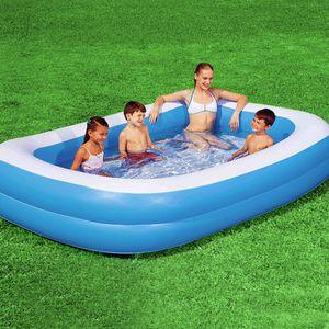 Bestway 12819 Familien Pool Planschbecken 211 x132 x46 cm splash and play