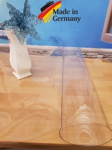 PVC Tischfolie, Tischschutz Schutzfolie , Tischdecke 90x140cm