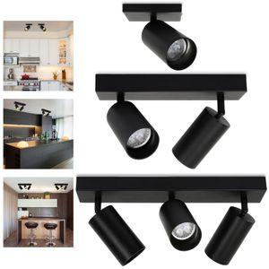 Wolketon Deckenleuchte 1/2/3-flammig LED Deckenstrahler schwenkbar Decken-Leuchte Modern