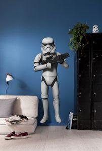 """Komar Deco-Sticker """"Star Wars Stormtrooper"""" 100 x 70 cm, weiß/schwarz, 14722h"""