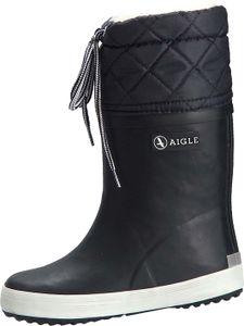 Aigle Giboulee Stiefel marine/weiß Gr. 33