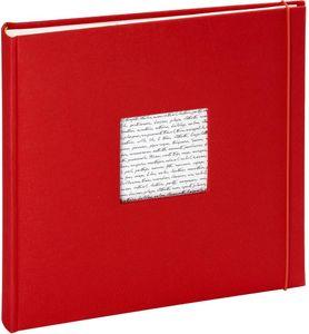 Altergenossesfotoalbum Linea 30X30X3.5 Cm Cm 60 Seite Trad. Rot