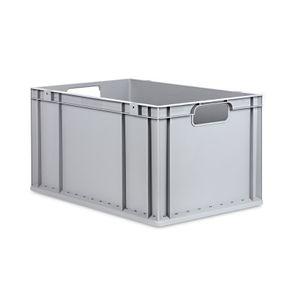Eurobox 600 x 400 x 320 mm grau Kunststoff 65 Liter