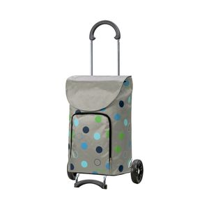 Andersen Shopper Scala und 41 Liter Tasche Kira silber mit Kühlfach