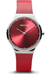Bering Armbanduhr analog Quarz mit Mesh-Band 12131-303