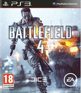 Electronic Arts Battlefield 4, PlayStation 3, PlayStation 3, FPS (First Person Shooter), DICE, M (Reif), Online, ENG