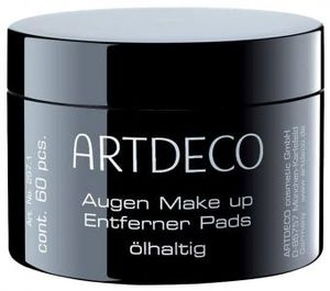 Artdeco Augen Make-up Entferner Pads Ölhaltig (60 Stück)
