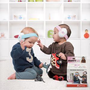 Alpine Nederland Baby Gehörschutz Muffy Pink