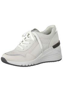 Sneaker mit Keilabsatz, Größe:40, Farbe:Weiß