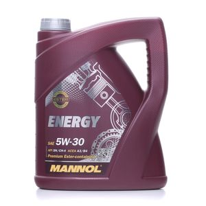 5 Liter MANNOL 5W-30 ENERGY Ford WSS-M2C913-B VW 502 00 VW 505 00 MB 229.3