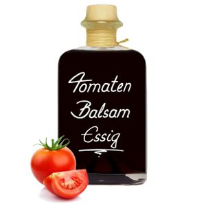 Tomaten Balsam Essig 0,5L - fruchtig würzig & sehr vielseitig Tomatenessig