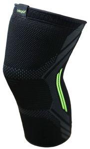 Kniebandage Kniestütze Verband Schmerzen Kompression Sport Bandage Knieschoner, Größe:XL