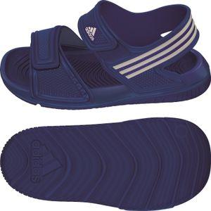 adidas Kinder Wassersandale Akwah 9 K Badesandale Wasserschuhe, Größe:33 - UK 1 - 20 cm, Farbe:Blautöne