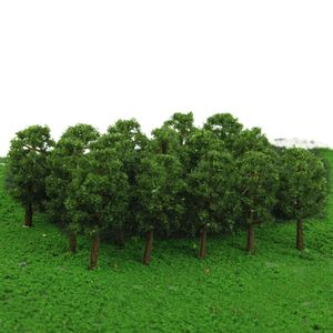 30 Stücke 1: 150 HO N Modell Bäume Weide Schiene Garten Fluss Straße