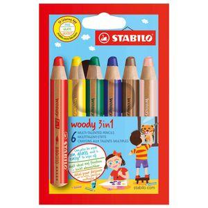 Stabilo Woody - 6-tlg. Set