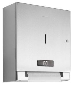Wagner-EWAR Elektrischer Papierrollenspender Batteriebetrieb WP1301 Edelstahl für Aufputzmontage, Variante:Edelstahl matt