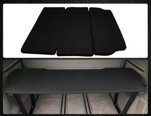 Multiflexboard Inkl. Matratze Bettverlängerung kompatibel mit VW T5 & T6 Multivan  UniSchwarz