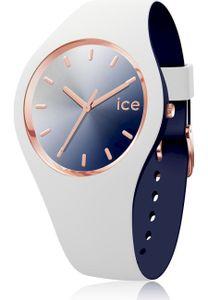 Ice-Watch 017153 Ice Duo Chic S Uhr Damenuhr Kautschuk Weiß