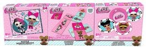 L.O.L. Surprise! Überraschungsspiele Junior 61 cm Karton 106-teilig