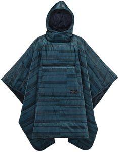 Therm-a-Rest Honcho Poncho blue print Größe One Size