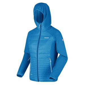 Regatta Hybrid Softshelljacke Damen Andreson V, Farbe:Blau, Damen Größen:40