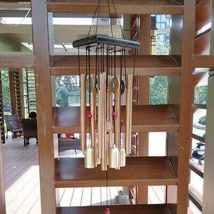Klangspiel Metall Windspiel Windharfe Feng Shui Outdoor Haus Gartendekoration