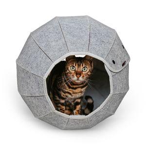 Katzenhöhle in Kugelform - Ø ca. 46 cm