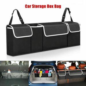 Tragbar Auto Veranstalter Autokofferraum Veranstalter Auto organizer  Auto Rücksitz Aufbewahrungsbox mit verstellbarem Gurt