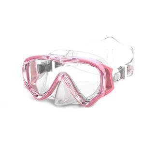 Schwimmbrillen, Beach Schnorchelbrille, Schwimmbrille / Taucherbrille für Kinder und Erwachsene, Rosa
