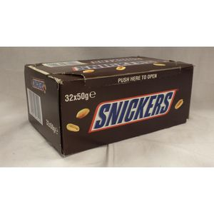 Snickers Schokoriegel mit Erdnüssen 32 Riegel
