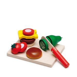 Erzi 28203, Küche und Essen, Spielset, 3 Jahr(e), Junge/Mädchen, Kinder, Mehrfarbig