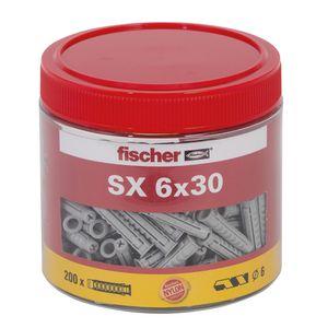 fischer Spreizdübel SX 6 x 30 Dose