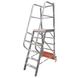 Krause STABILO PodestLeiter Vario kompakt 6 Stufen