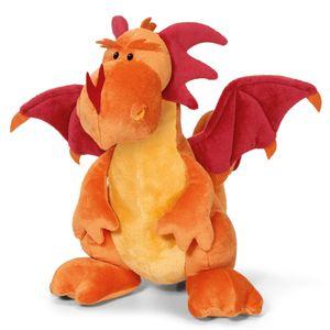 NICI Dragons Drache orange sitzend 36011 - NICI Drache Arock 50cm - Rarität