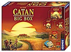 Kosmos 693152 Catan Big Box,Familienspiel