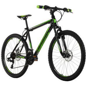 Mountainbike Hardtail 26'' Sharp schwarz-grün RH 46 KS Cycling