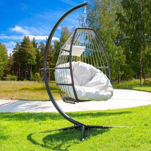 Hängesessel Gestell Hängestuhl Ständer Hängesessel Gestell 86x149x217cm(kein Stuhl)