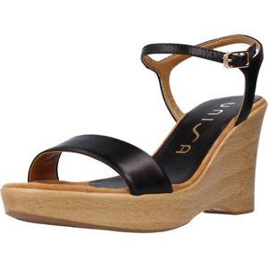 Unisa Damen Sandalette in Schwarz, Größe 37