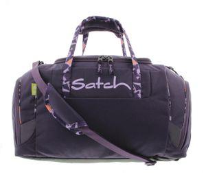 Satch Sporttasche Mysterious Rush, Farbe/Muster: Lila gemustert