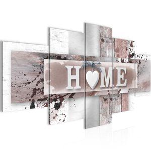 Home Herz BILD :200x100 cm − FOTOGRAFIE AUF VLIES LEINWANDBILD XXL DEKORATION WANDBILDER MODERN KUNSTDRUCK MEHRTEILIG 504551b