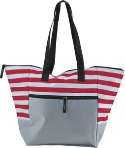 Strandtasche mit Reißverschluss Groß Badetasche XXL für z.b Familie Rot BWE