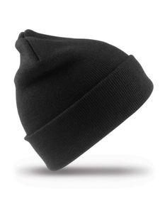 Woolly Ski Hat Wintermütze - Farbe: Black - Größe: One Size