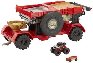 Hot Wheels Monster Trucks 2-in-1 Crashrennen-Truck