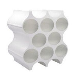 Koziol Flaschenregal Set Up in Weiß
