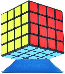 Zauberwürfel 4x4, Speed Cube 4x4 Puzzle Würfel Spielzeug Schwarz