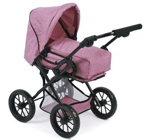 Bayer Chic 2000 Kombi-Puppenwagen Leni , Farbauswahl:Jeans Pink