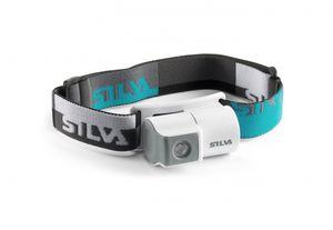 Silva Schneider Jogger, Stirnband-Taschenlampe, Blau, Grau, Weiß, IPX3, 1 Lampen, LED, 45 lm