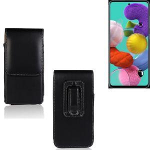 Für Samsung Galaxy A51 Holster Gürtel Tasche Gürteltasche Schutzhülle Handy Tasche Schutz Hülle Handytasche Smartphone Case Seitentasche