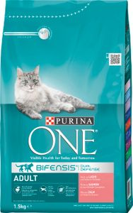 Purina - One Adult Reich an Lachs (1-6 Jahre)